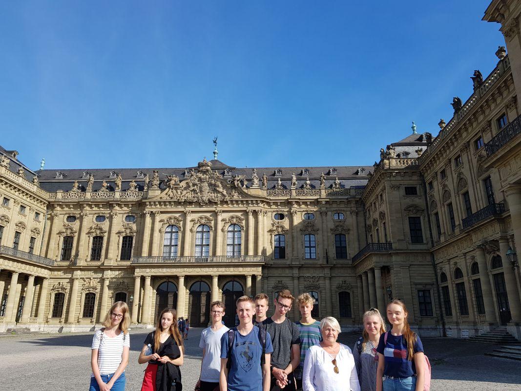 Schüleraustausch mit dem V Liceum in Poznan / Polen 2018