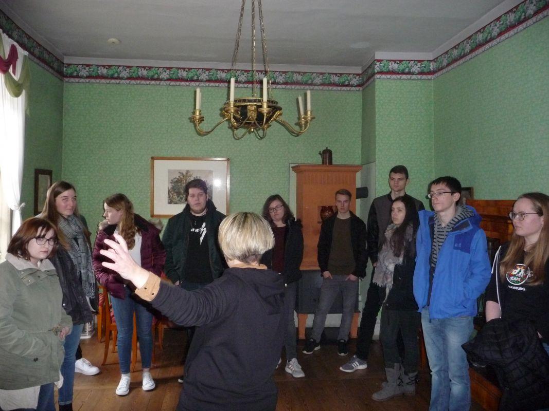 Das Leben Von Goethe Und Schiller Live – Exkursion Der 13.Klassen Nach Weimar